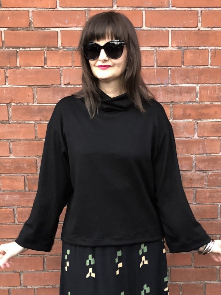 Sarah Bibb Lumi Cowl - Black