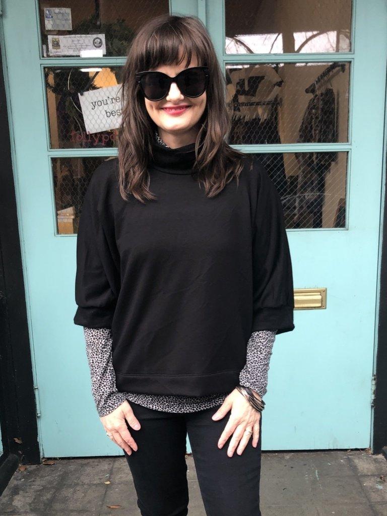 Sarah Bibb Romeo Top - Softest Black