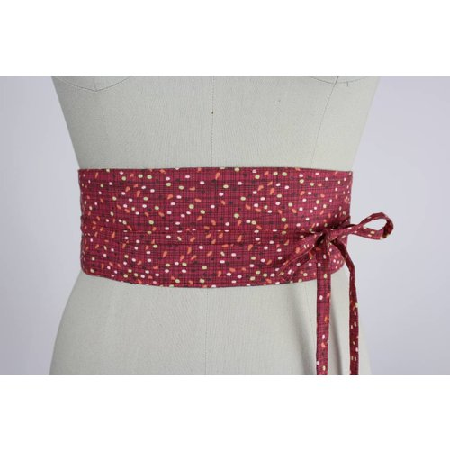 Sarah Bibb Obi Belt by Sarah Bibb - Red Jelly Bean