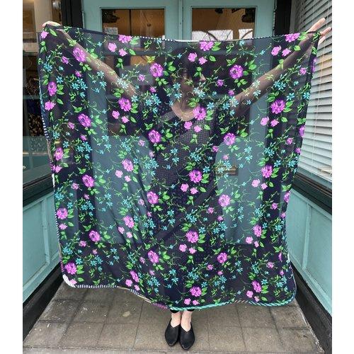 Sarah Bibb Thalia Scarf -Electric Floral