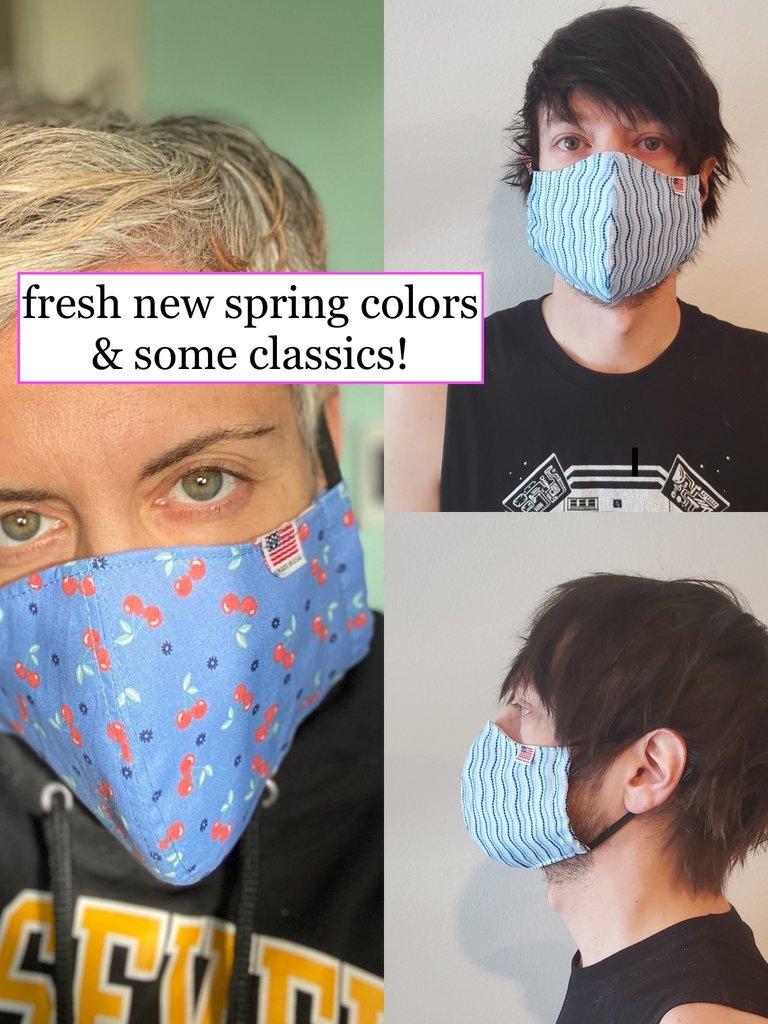 Busy Mushroom Premium Masks Spring 2