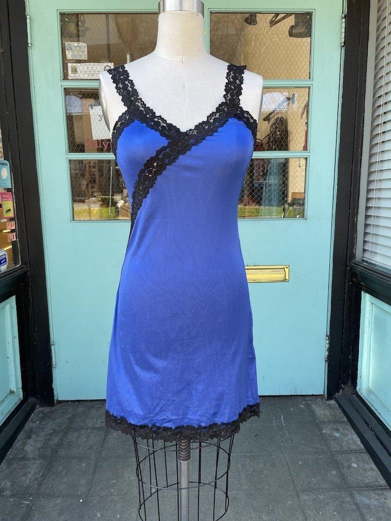 Sarah Bibb Hand Dyed Limited Edition Ava Slip - Navy