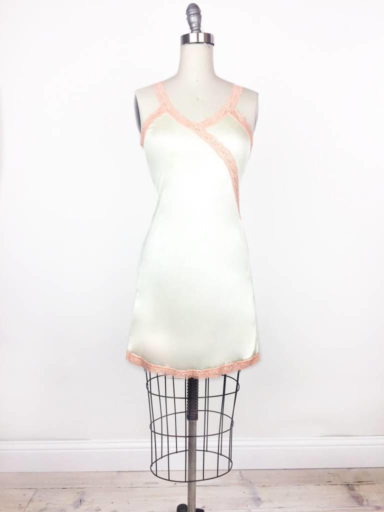 Sarah Bibb Ava Slip by Sarah Bibb - Ivory/Pink