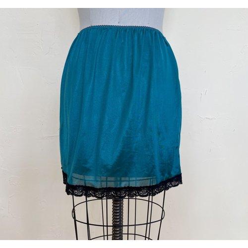Sarah Bibb Hand Dyed Limited Edition Mary Beth Half Slip - Jade
