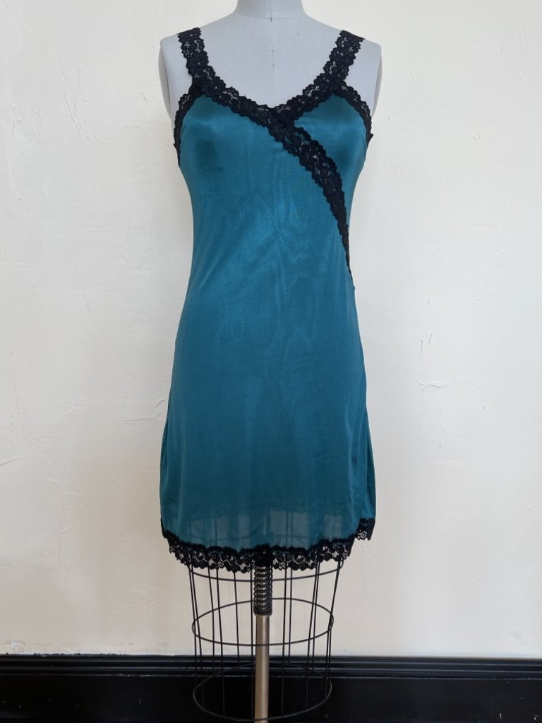 Sarah Bibb Hand Dyed Limited Edition Ava Slip - Jade