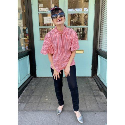 Sarah Bibb Farrah Top - Casablanca