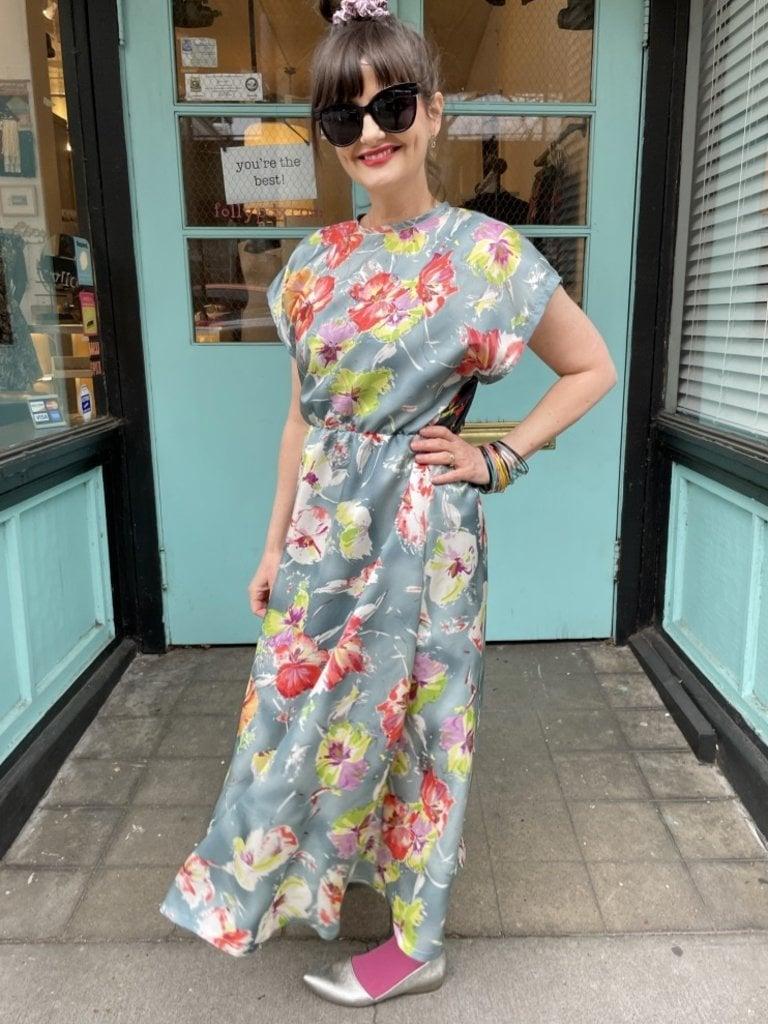 Sarah Bibb Angela Dress - Giverny/ Paradise