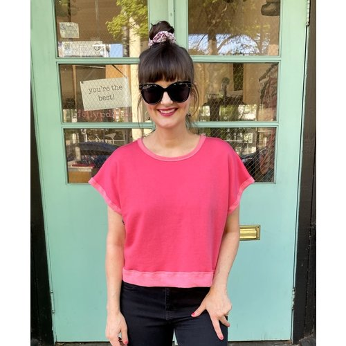 Sarah Bibb Lumi Top s/s - Watermelon