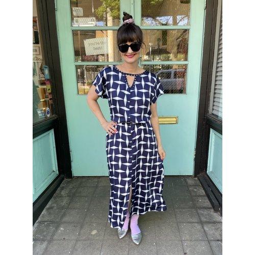 Sarah Bibb Tez Dress - Santiago