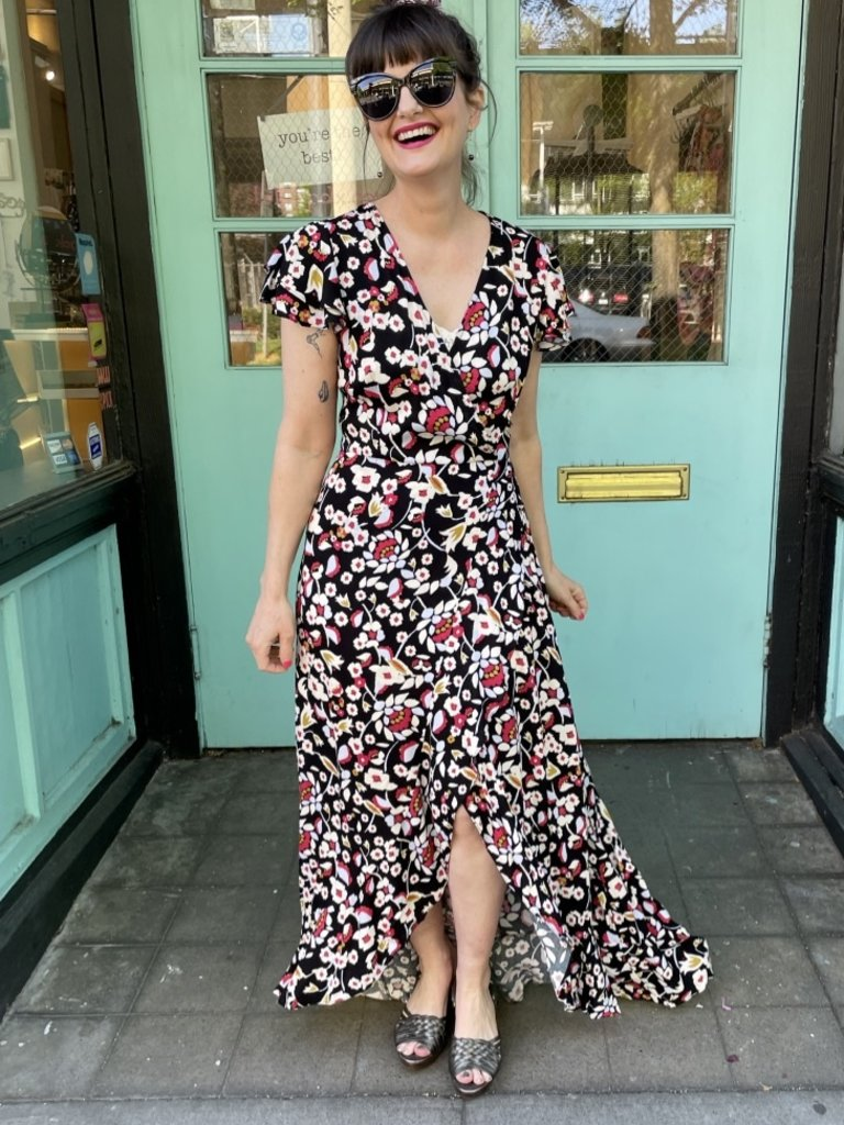 Frnch Allisa Dress - Flora
