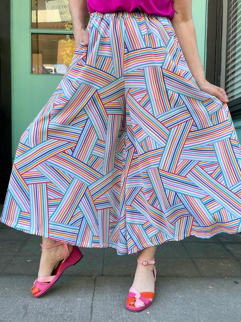 Sarah Bibb Trista Wide Leg - Xanadu