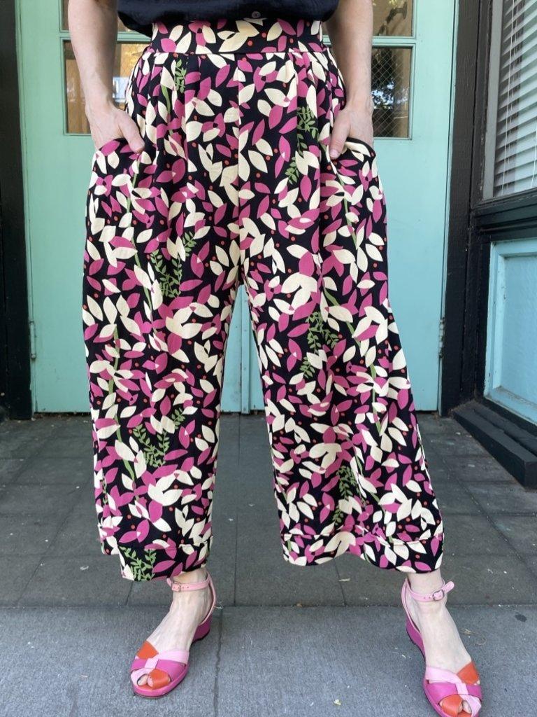 Sarah Bibb Miranda Cropped Pants - Barcelona