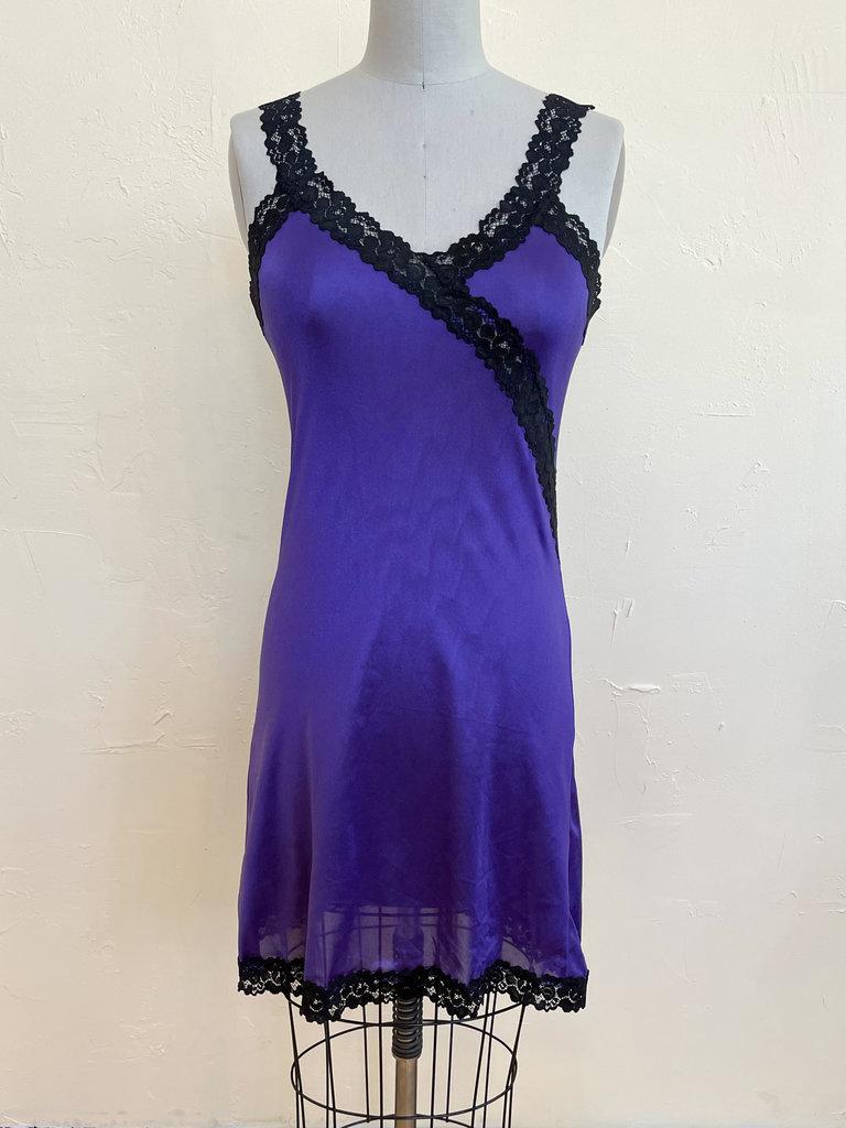 Sarah Bibb Hand Dyed Limited Edition Ava Slip - Iris