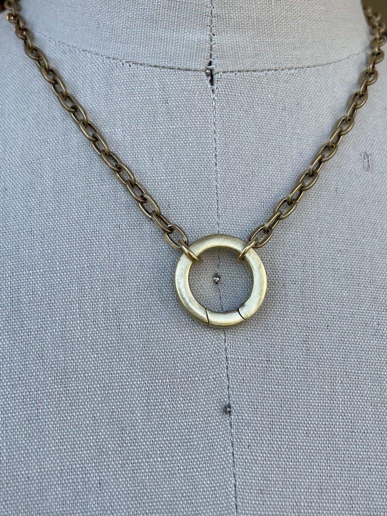 Reb Vinyard Jewelry Spring Clasp Necklace