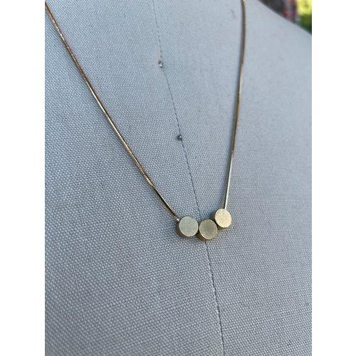 Reb Vinyard Jewelry Ellipsis Slider Necklace