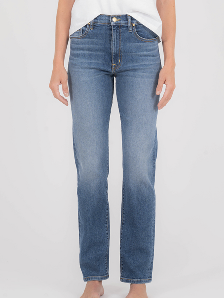 Level 99 Slim Straight Leg Jean - Busy