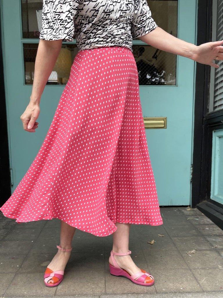 Sarah Bibb Syd Skirt Long - Poppy Dia