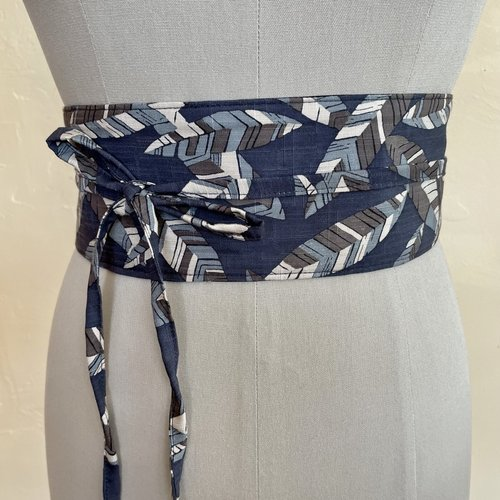 Sarah Bibb Wrapping Belt  - Leafy