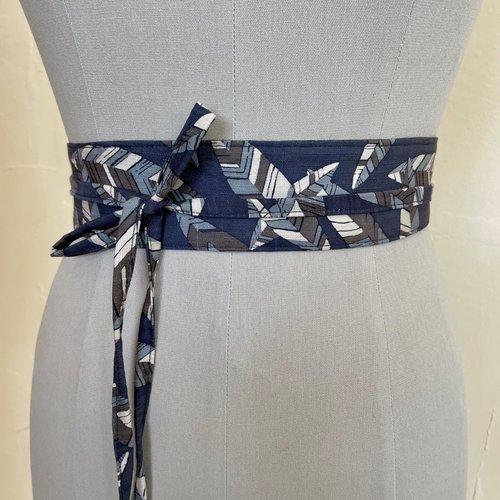 Sarah Bibb Mini Wrapping Belt  - Leafy