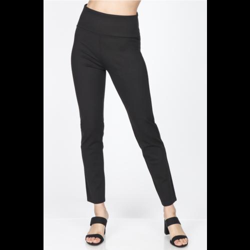 M Rena High Waist Ponte Pants - Black