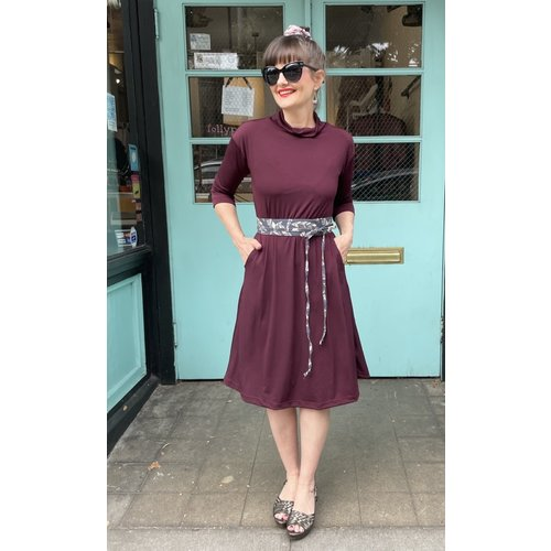 Sarah Bibb Tasha Dress - Syrah