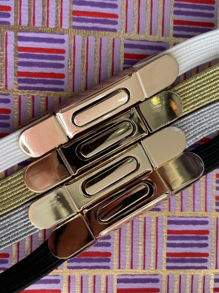 Elise M. Elastic Belt Size M/L - Multiple Colors