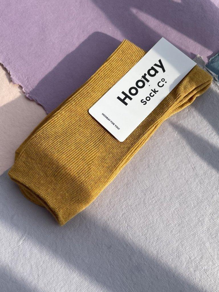 Hooray Everyday Socks - Goldenrod