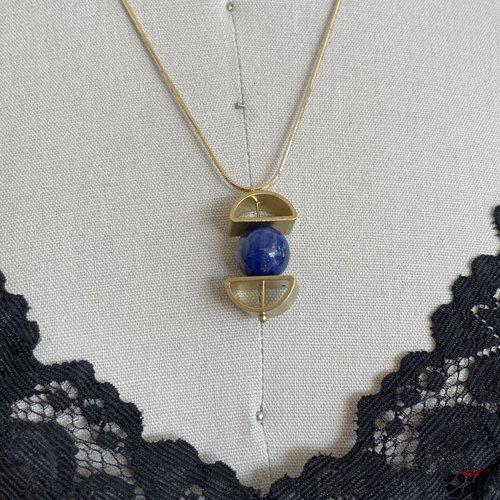 Reb Vinyard Jewelry Orbital Slider Necklace