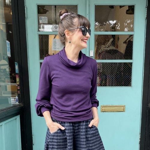 Sarah Bibb Nicole Sweater - Concord