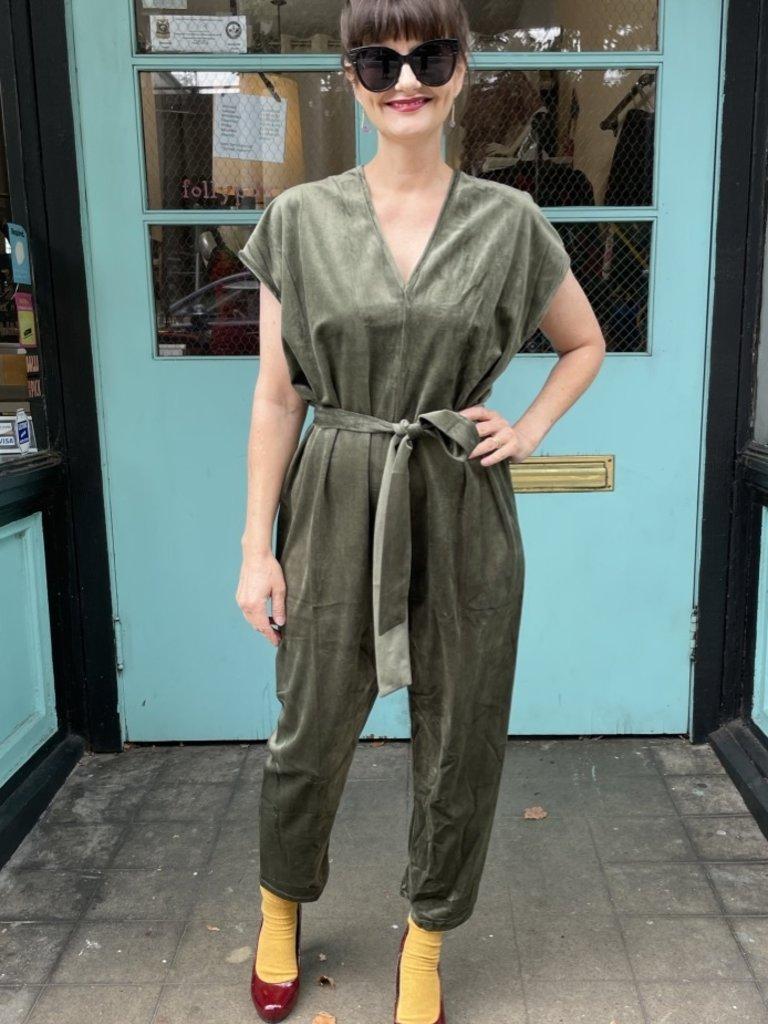 dra Ciara Jumpsuit - Olive