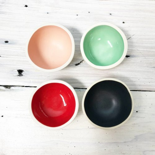 Color Mini Bowls -Multiple Colors