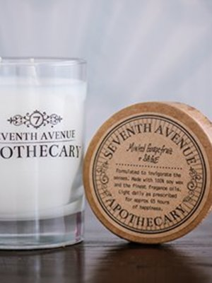 Seventh Avenue Apothecary Glass Jar Candle - Minted Grapefruit & Sage
