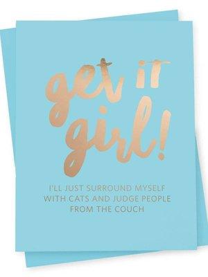 417 Press Get it Girl Card