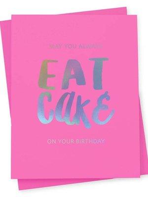 417 Press Eat Cake Card