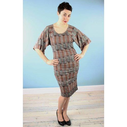 Bel Kazan Marin Dress - Woodgrain