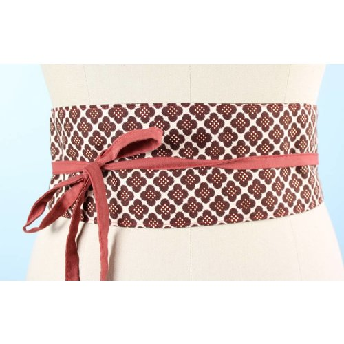 Sarah Bibb Obi Belt by Sarah Bibb - Brown Doo-Dads