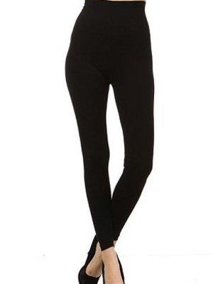 M Rena Tummy Tuck Leggings - Black