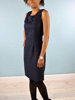 Shera Dress - Deepest Navy