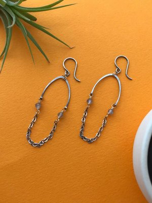 Amy Olson Maia Earrings - Lab