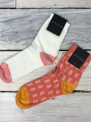B. Ella Pineapple Socks - multiple colors