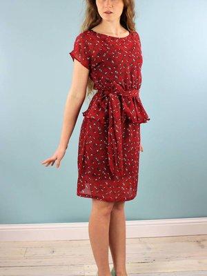 Sarah Bibb Laurel Peplum Dress -Birdy