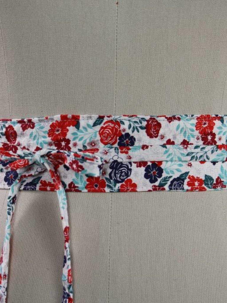 Sarah Bibb Mini Wrapping Belt- Spangle