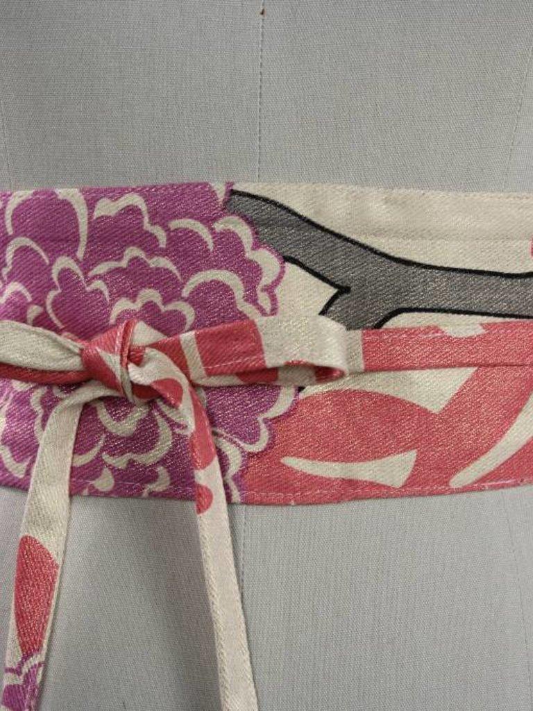 Sarah Bibb Wrapping Belt- Chrysanthemum