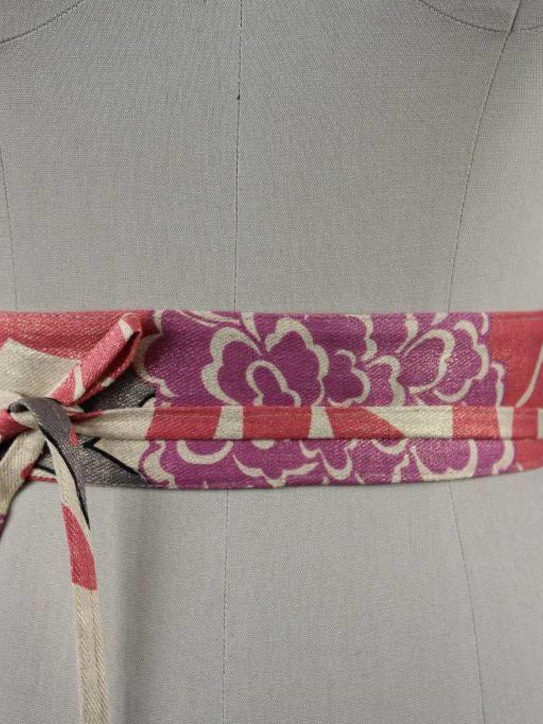 Sarah Bibb Mini Wrapping Belt  - Chrysanthemum