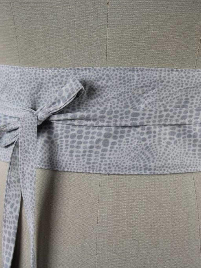 Sarah Bibb Wrapping Belt  - Greystone