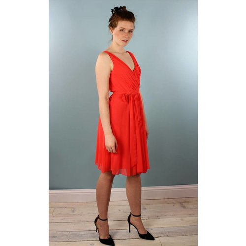 Traffic People Pasha Dress - Coral