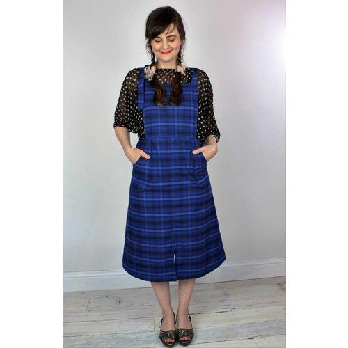 Sarah Bibb Reilly Jumper - Blue Plaid