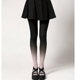 BZR Hand Dyed Ombre Tights - Smoke