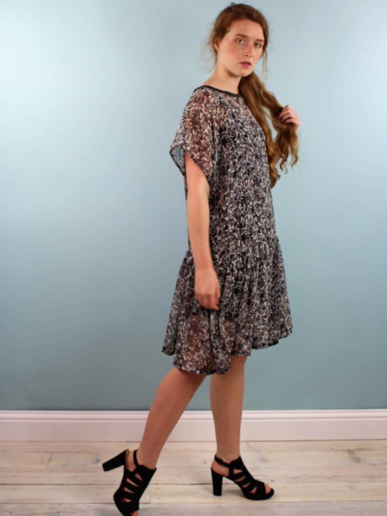 Sarah Bibb Paulie Dress - Shallow Berry