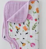 Little Unicorn Cotton Muslin Burp Cloth - Berry & Bloom UF0406